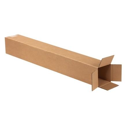 "Corrugated Boxes, 4 x 4 x 30"", Kraft"