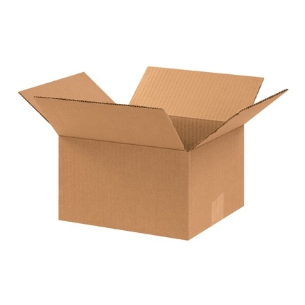"Corrugated Boxes, 10 x 9 x 6"", Kraft"