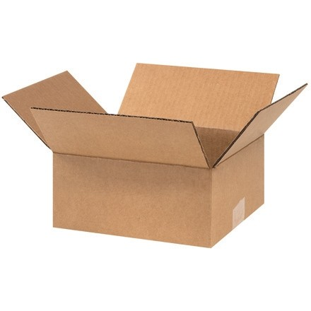 "Corrugated Boxes, 9 x 8 x 4"", Kraft"