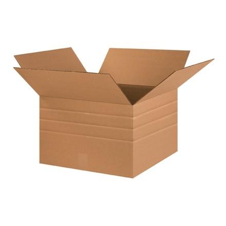 """Corrugated Boxes, Multi-Depth, 18 x 18 x 12"""""""