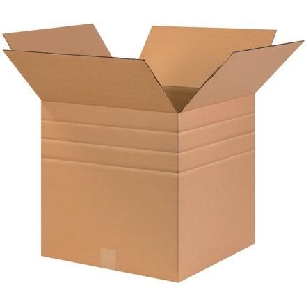 "Corrugated Boxes, Multi-Depth, 17 x 17 x 17"", Kraft"