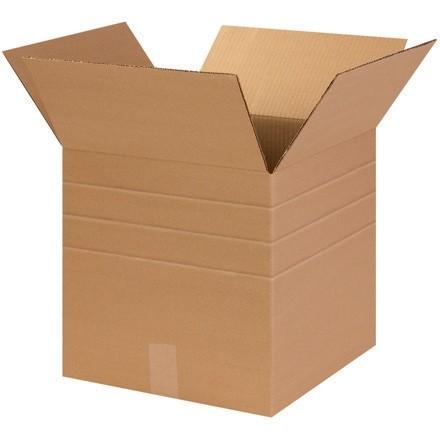 "Corrugated Boxes, Multi-Depth, 14 x 14 x 14"", Kraft"