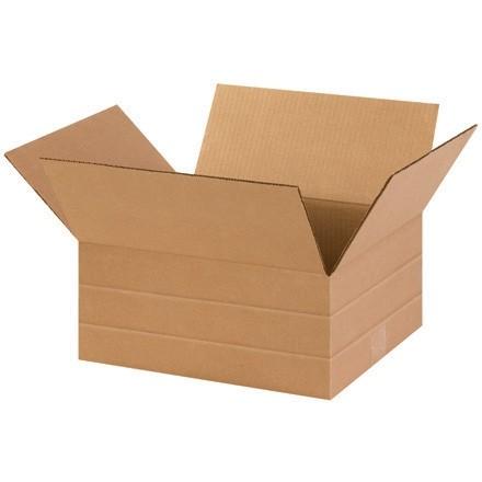 """Corrugated Boxes, Multi-Depth, 14 x 12 x 6"""""""