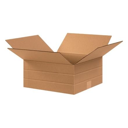 """Corrugated Boxes, Multi-Depth, 12 1/2 x 12 1/2 x 6"""""""