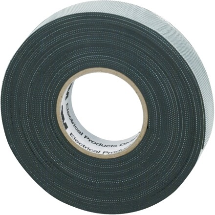 "3M 2155 Rubber Splicing Tape, 3/4"" x 22', Black"