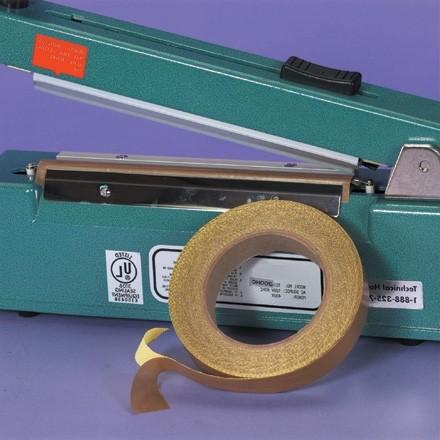 "PTFE Glass Cloth Tape, 1 1/2"" x 18 yds., 3 Mil"