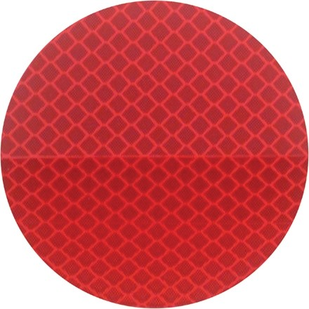 """3M 989 Red Reflective Labels, 3"""""""