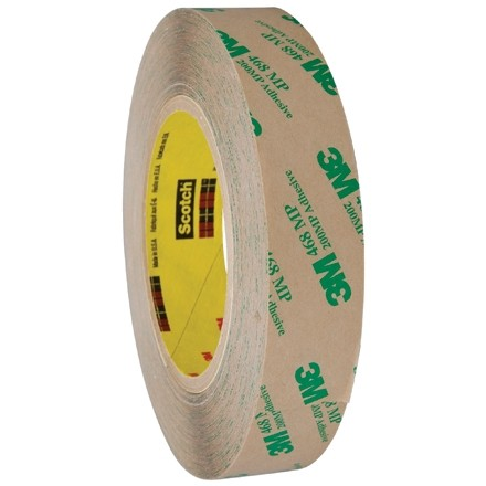 """3M 468MP High Performance Adhesive Transfer Tape, 1"""" x 60 yds., 5 Mil Thick"""