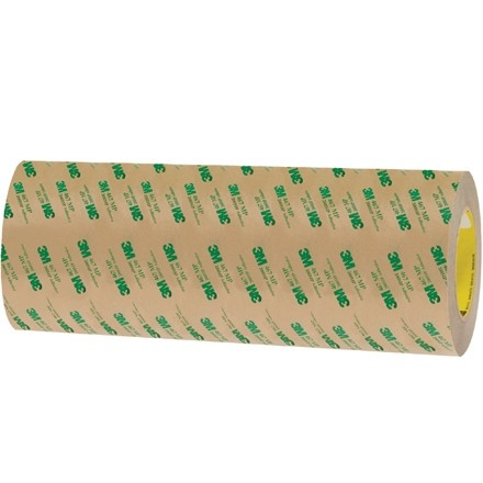 """3M 467MP High Performance Adhesive Transfer Tape, 12"""" x 60 yds., 2 Mil Thick"""