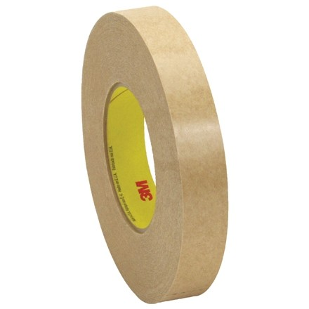 """3M 9498 General Purpose Adhesive Transfer Tape, 1"""" x 120 yds., 2 Mil Thick"""