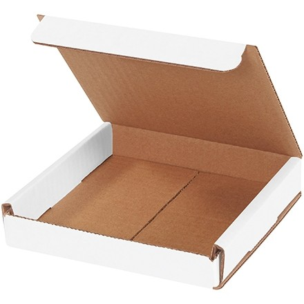 Indestructo Mailers, White, 6 x 6 x 1""