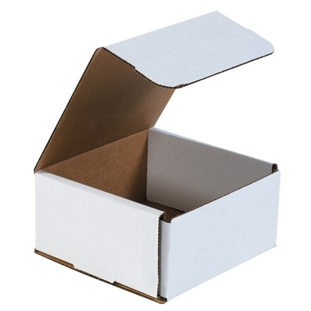 """Indestructo Mailers, White, 6 x 6 x 3"""""""