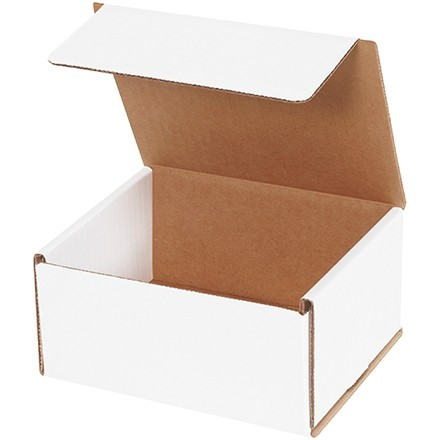 """Indestructo Mailers, White, 6 x 5 x 3"""""""