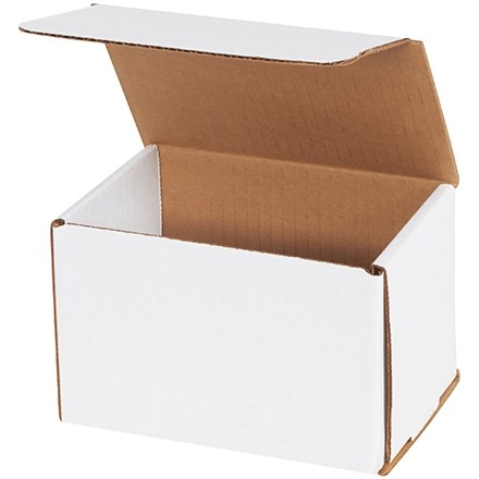 """Indestructo Mailers, White, 6 x 4 x 4"""""""