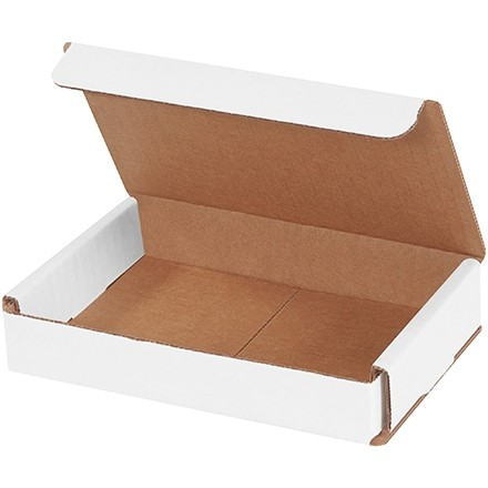 Indestructo Mailers, White, 6 x 4 x 1""