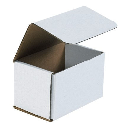 """Indestructo Mailers, White, 5 1/2 x 3 1/2 x 3 1/2"""""""