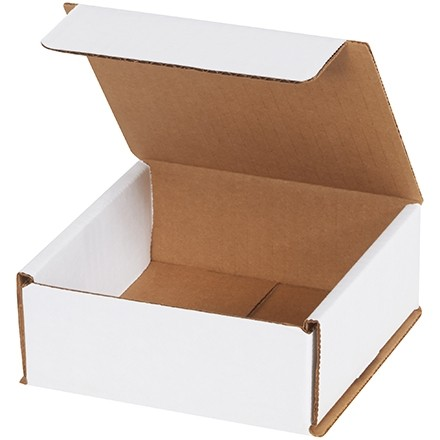 Indestructo Mailers, White, 5 x 5 x 2""