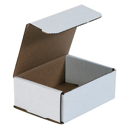 Indestructo Mailers, White, 5 x 4 x 2""