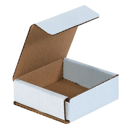"""Indestructo Mailers, White, 3 x 3 x 1"""""""