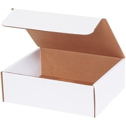 "Literature Mailers, White, 9 x 7 1/2 x 3"""