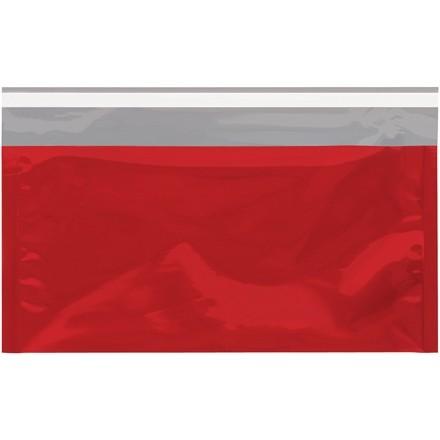 "Glamour Mailers, Flat, Metallic Red, 6 1/4 x 10 1/4"""