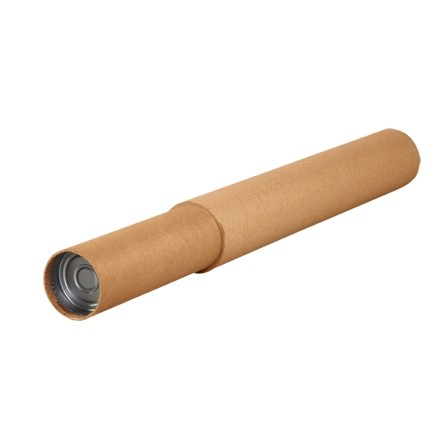 "Mailing Tubes, Adjustable, Round, Kraft, 3 1/4 X 24 - 44"", 0.18"" thick"