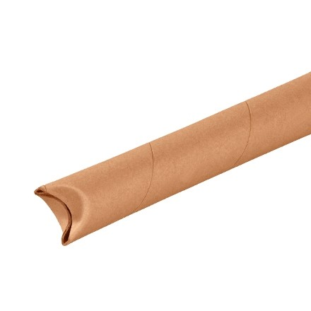 """Mailing Tubes, Snap-Seal, Round, Kraft, 1 1/2 x 9"""", .060"""" thick"""