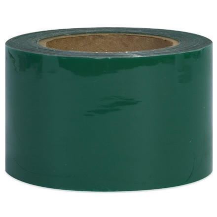 "Green Bundling Stretch Film, 80 Gauge, 3"" x 1000"