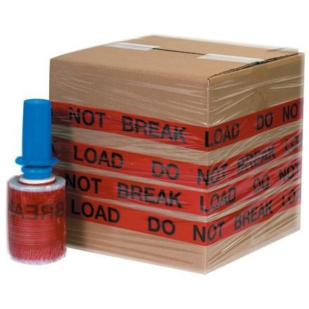 """""""DO NOT BREAK LOAD"""" Goodwrappers® Identi-Wrap, 80 Gauge, 5"""" x 500"""