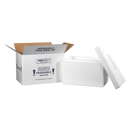 """17 x 10 x 10 1/2"""" Insulated Shipping Kits"""