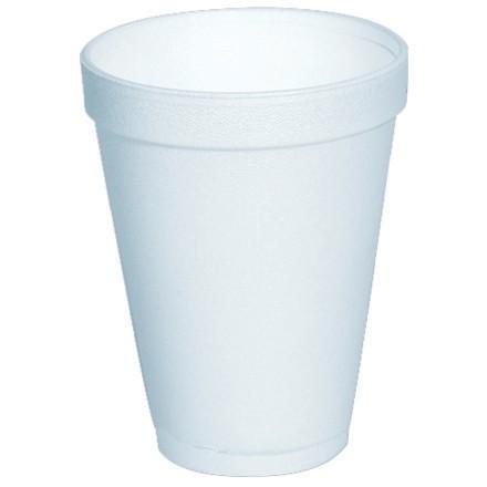 Foam Cups, 12 oz.
