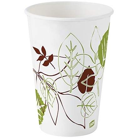 Dixie® Paper Cold Cups, Poly Coated, 12 oz.