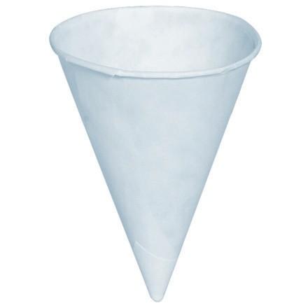 Cone Paper Cups, White, 4 oz.