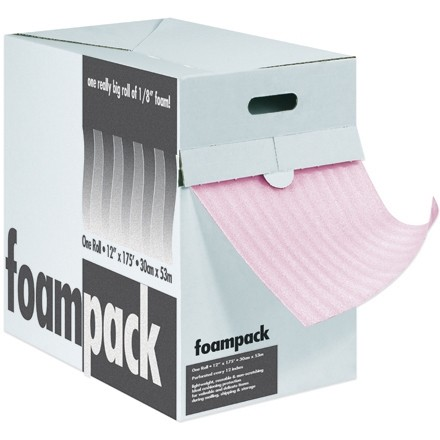"Anti-Static Air Foam Dispenser Box - 1/8"", 12"" x 175"