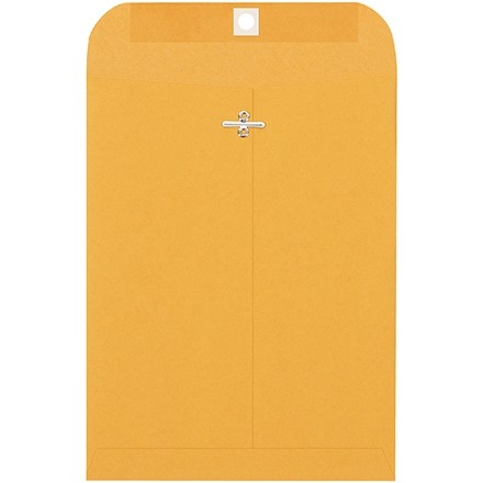 Clasp Envelopes, Kraft, 7 1/2 x 10 1/2""
