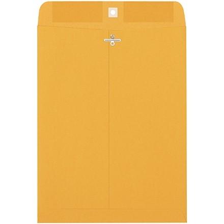 "Clasp Envelopes, Kraft, 9 x 12"""
