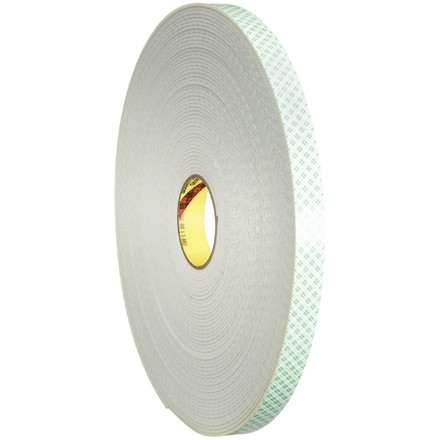 """3M 4008 Double Sided Foam Tape, 1/8"""" Thick - 3/4"""" x 36 yds."""
