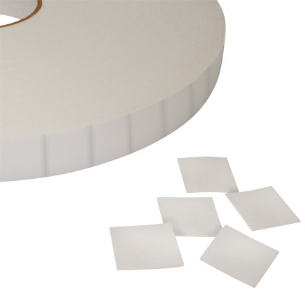 """Pre-Cut Double Sided Foam Squares, 1/32"""" Thick - 1 x1"""""""
