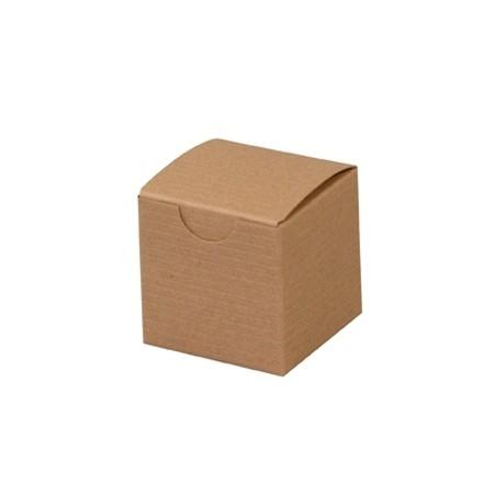 "Chipboard Boxes, Gift, Kraft, 2 x 2 x 2"""