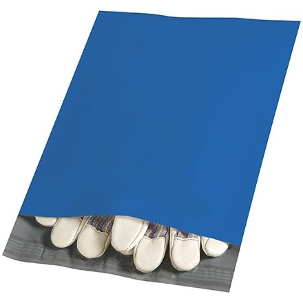 Poly Mailers, Blue, 10 x 13""