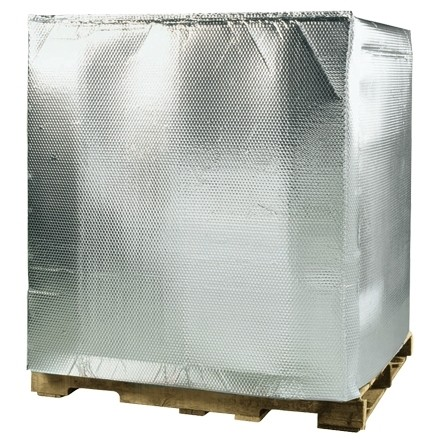 """Insulated Bubble Pallet Covers, 48 x 40 x 60"""""""