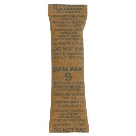 "Kraft Clay Desiccants 1/3 Gram Size - 5 Gallon Pail, 1 x 3 1/2 x 1/4"""