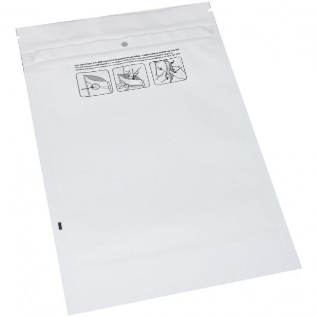 "Medjacket™ Child-Resistant Reclosable Pouch - 6 x 9.8 x 2.35"""