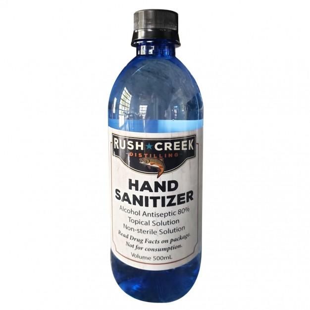 Bottles of Hand Sanitizer, 500ml, 42 per case