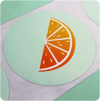 Circle Custom Labels - Design Yours Now