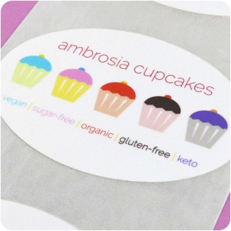 Oval Custom Labels - Design Yours Now