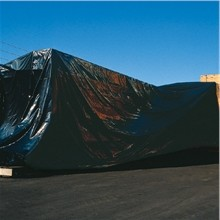 10 x 100' 4 Mil Black Poly Sheeting