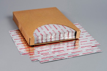 Foil Sheets, Printed - Red, 10 1/2 x 13""
