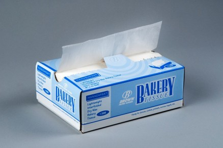 White Bakery Deli Tissue Sheets , 8 x 10 3/4""