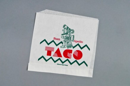 """Double Opening Taco Bags, 7 1/8 x 6 1/2"""""""